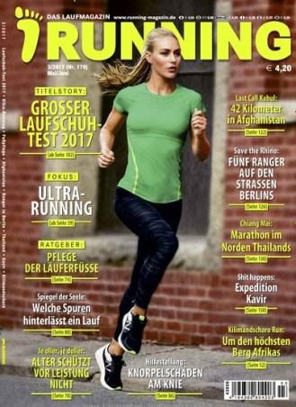 RUNNING - Das Laufmagazin - epaper Titelbild Ausgabe 3/2017 (2112419)